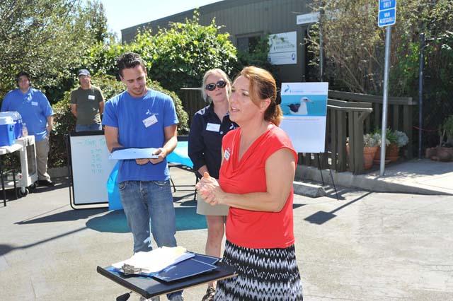 Pelican Aviary Celebration at San Francisco Bay Center on September 7, 2013