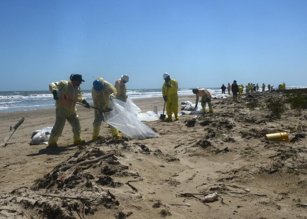 Matagorda Island cleanup